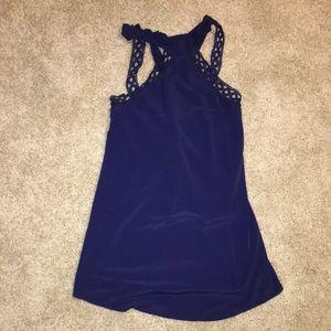 Size XS Blue Flowy Dress